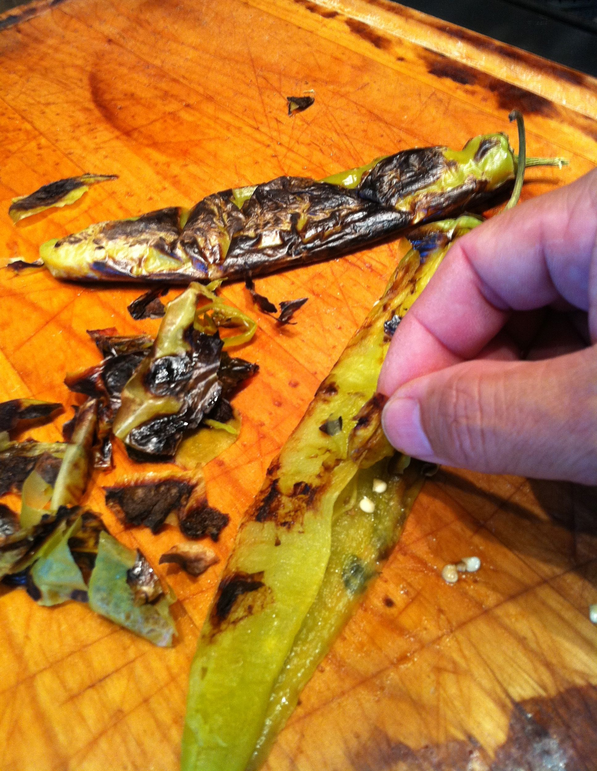 Roasted Anaheim chiles are moist, super flavorful
